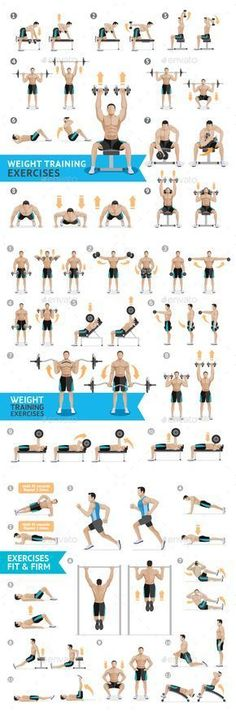Dumbbell Exercises and Workouts Weight Training by. Dumbbell Exercises and Workouts Weight Training by graphixmania Dumbbell exercises and workouts weight training. The ZIP files include : – EPS 10 compatible vector files – Adobe illustrator AI 300 Workout, Gym Workout Tips, Dumbbell Workout, Dumbbell Exercises, Workout Plans, Weight Exercises, Belly Exercises, Workout Routines, Fitness Workouts