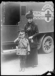 Miss Jeanne Jackson of Burnley who raised £1,100 for prisoners of war, 1916