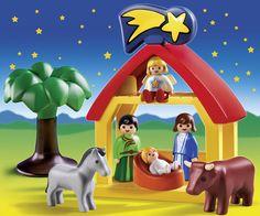 #Playmobil Christmas Manger