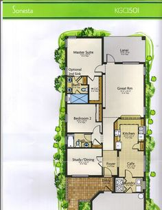The Courtyards At Montelena Napoli Floor Plan In Solivita
