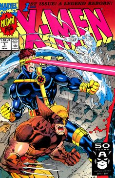 x men comic 2 covers | Men Vol 2 1 - Marvel Comics Database<---There were four covers. I have two of them