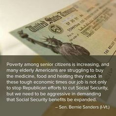 Poverty among seniors