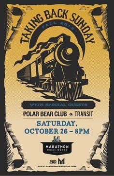 Taking Back Sunday, Oct 26, 2013 @ Marathon Music Works