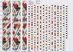 """Анастасия Макеева — """"poker"""" pattern 18 around"""