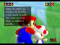 nitendo 64 mario | Super Mario 64 en Español - Rom Nintendo 64