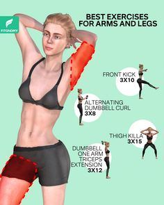 Full Body Gym Workout, Gym Workout Tips, Biceps Workout, Fitness Workout For Women, Workout Videos, Good Arm Workouts, Gym Workout For Beginners, Thigh Challenge, Plank Challenge