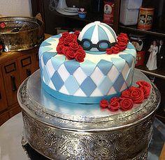 Kentucky Derby Cake (Deep Fried Kudzu) Tags: roses horse cake race kentucky racing derby fondant