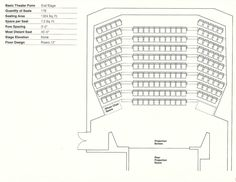 Gallery of How to Design Theater Seating, Shown Through 21 Detailed Example Layouts - 8