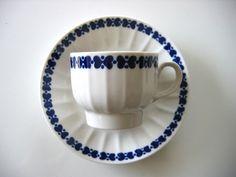 Vintage Arabia Finland Cup & Saucer