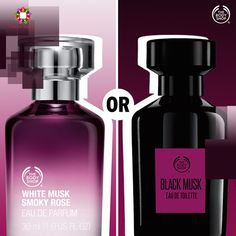 White & mysterious or black & powerful. What is your mood of the day? #THEBODYSHOP #CentreSquare