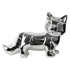 Urban Trends Ceramic Standing Fox Figurine - 12635