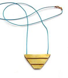 . . handmade harmonic mean necklace . .