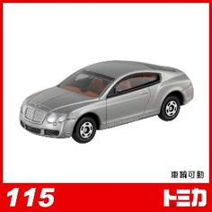 【任選】【TOMICA】日本多美小汽車/BENTLEY CONTINENTAL GT No.115 $83@tree mall15/06/30