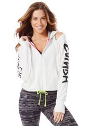 Shimmer Down Now Zip-Up   Zumba Wear