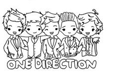 one direction coloring pages to print | 20 Best High school campaigning images | Student council ...