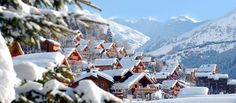 One of our favourite places to ski and snowboard - Meribel in the 3Vallees (France).