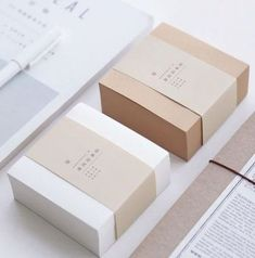 Muji Style Kraft Memo Pad Blank Page Mini Notepad Portable Sticky Notes Post It Paper Bookmark School Office Supplies Packaging Box, Candle Packaging, Cookie Packaging, Jewelry Packaging, Brand Packaging, Design Packaging, Packaging Carton, Ecommerce Packaging, Packaging Company