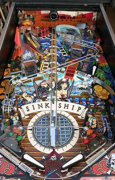 Pinball Machines - Black Rose Pinball Machine - The Pinball Company Arcade Games, Pinball Games, Pc Games, Video Games, Pinball Wizard, Penny Arcade, Machine Video, Arcade Machine, Table Games