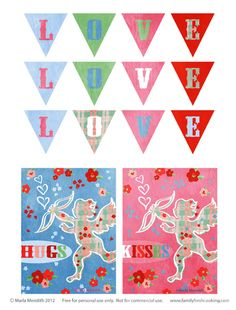 """Here is the link to my FREEBIE """"Little Angels"""" DIY Valentine's Day Printables:  http://on.fb.me/yIXwwM  #budget #holiday #gifts #crafts #angels #crafts #homemade #chocolate #love www.familyfreshcooking.com"""