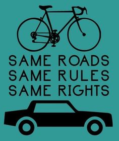 same rights, #cycling