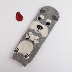 66cfc4fd4 Candy color lovely dogs Cute cartoon sox Autumn Summer South Korean women s  Fashion Cotton tube Socks