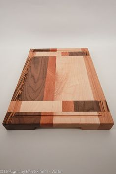 Handmade Exotic Timber Butchers Block/Chopping by BenSkinnerWatts