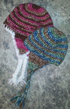 Free Crochet Stocking Hat Patterns For Adults : 1000+ images about knit crochet caps on Pinterest ...