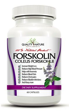 FORSKOLIN COLEUS  FORSKOHLII WEIGHT LOSS 20% EXTRACT 250 mg BELLY FAT BURNER! #QualityNature