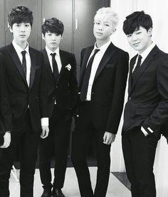 Jin & Kookie & Nam & Jimin