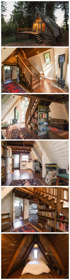 Cozy A-Frame Cabin in the Redwoods                                                                                                                                                      More