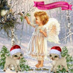cabschau - Page 35 Christmas Tree With Gifts, Christmas Images, Christmas Angels, Christmas And New Year, Gifs, Merry Christmas Animation, Xmas Photos, Angels Among Us, Illustrations