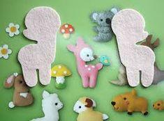 Image result for sew felt animals