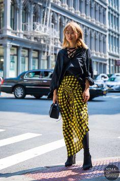 New York SS 2018 Street Style: Margaret Zhang