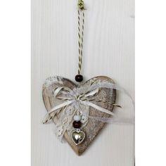 Dřevěné srdce na zavěšení Pendant Necklace, Jewelry, Jewlery, Jewerly, Schmuck, Jewels, Jewelery, Drop Necklace, Fine Jewelry