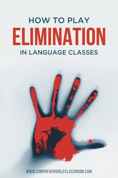 Elimination will be your students FAVORITE game! Learn how to adapt this popular role playing game for language classes. Commonly known as Mafia or Werewolf, this game and all of its adaptations provide students with rich, communicatively-embedded input! Class Games, All Games, Games To Play, Playing Games, English Games, English Class, Assassin Game, Classroom Games, Classroom Ideas