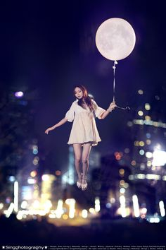 Luna - #Photography #Floating #Moon