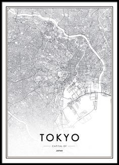 Poster with Tokyo.