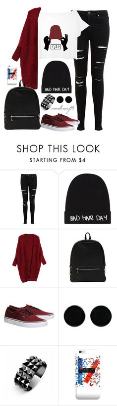 """Twenty One Pilots Kind Of Day"" by avonsblessing94 ❤ liked on Polyvore featuring Miss Selfridge, Local Heroes, Deux Lux, Vans, AeraVida, Waterford, women's clothing, women, female and woman"