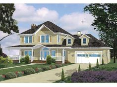Get rid of living room.. kitchen bigger with french doors out the back Eplans Ranch House Plan - Classic Main Street - 2417 Square Feet and 3 Bedrooms from Eplans - House Plan Code HWEPL63620