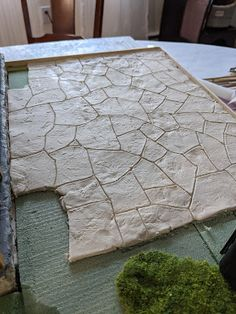 Diy Dollhouse, Dollhouse Miniatures, Brown Paint, Paint Drying, Rustic Outdoor, Thinking Outside The Box, Stone Work, Im Not Perfect, How Are You Feeling