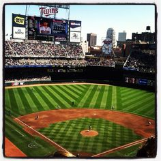 #Minnesota Twins Baseball!  #Travel Minnesota USA multicityworldtravel.com We cover the world over 220 countries, 26 languages and 120 currencies Hotel and Flight deals.guarantee the best price