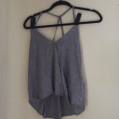Abercrombie and Fitch tank top Only used once this cute hi-lo tank is perfect for the summer weather. Abercrombie & Fitch Tops Tank Tops