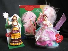 I LOVE LUCY Lucille Ball Small Figures: From 'Gets in Pictures' & 'Operetta'
