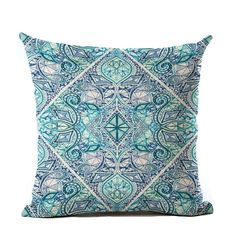 Pattern Type: Geometric Style: Plain Technics: Woven Material: Linen / Cotton Use: Seat, Home, Decorative, Chair, Car, Other Pattern: Printed Shape: Square