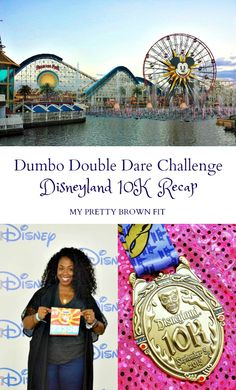 10th Anniversary Disneyland Half Marathon Weekend | Dumbo Double Dare Challenge: Disneyland 10K Recap | My Pretty Brown Fit