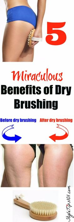 5 BENEFITS OF DRY BRUSHING