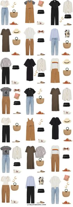 Fashion Tips For Beginners How to Build a Minimalist Capsule Wardrobe for Summer Starter Kit Minimalist Outfit, Minimalist Wardrobe, Minimalist Fashion Women, Mode Outfits, Fashion Outfits, Fashion Fashion, Fashion Tips, Summer Outfits, Casual Outfits