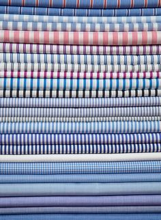 Bespoke shirting from Dege & Skinner