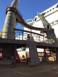 Diving towers and platforms for the Harmony of the Seas.