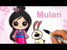 How to Draw Chibi Taylor Swift Cute step by step Shake It Off Music Video - YouTube